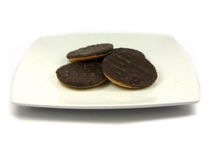 high protein dark chocolate biscuits