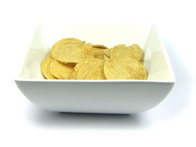 sour cream and onion crisps