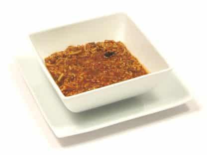high protein spaghetti bolognese