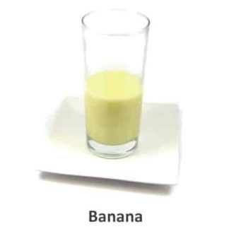 banana flavour meal replacement shake