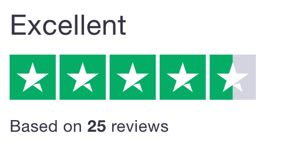 we're rated 5 star